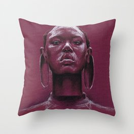 Gorgeous african Throw Pillow
