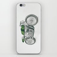 motorbike iPhone & iPod Skins featuring MOTORBIKE by EDENLAND
