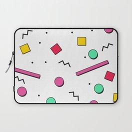 1980s retro pattern Laptop Sleeve