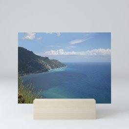 Amalfi Coast from Ravello Mini Art Print
