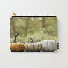 Fall pumpkins, harvest decor Carry-All Pouch