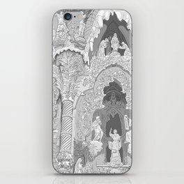 Detail of the facade ( Sagrada Familia ) iPhone Skin