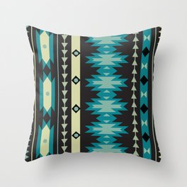 American Native Pattern No. 174 Throw Pillow