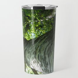Sacred Birch by Mandy Ramsey, Haines, AK Travel Mug