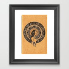 ligeia Framed Art Print