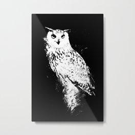 Nocturnal Wisdom  Metal Print