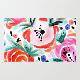 Tropical Floral Rug