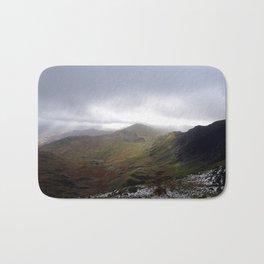 Mount Snowdon, Snowdonia, Wales Bath Mat