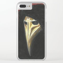 The Witness Has Spoken Clear iPhone Case
