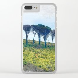 Trapani art 13 Sicily Clear iPhone Case