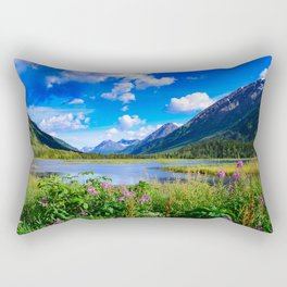 God's Country - IV, Alaska Rectangular Pillow