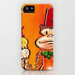 Ice Cream Fez Ape. iPhone Case