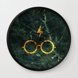 Harry P Stone Green Wall Clock