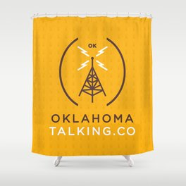 Oklahoma Talking Co.  Shower Curtain