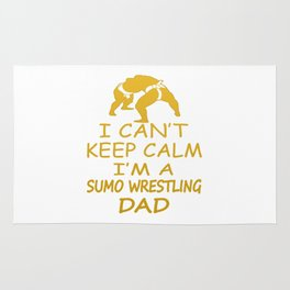 I'M A SUMO WRESTLING DAD Rug