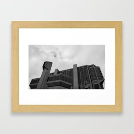 City Architecture Framed Art Print