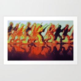 In the Heat Art Print