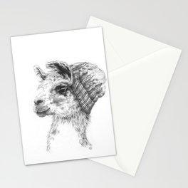 Wooly Llama Stationery Cards