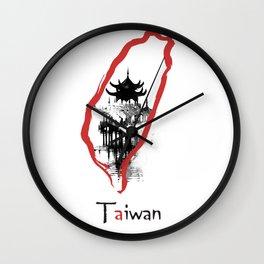 Taiwan, Taipei Wall Clock