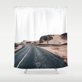 Icelandic landscape Shower Curtain