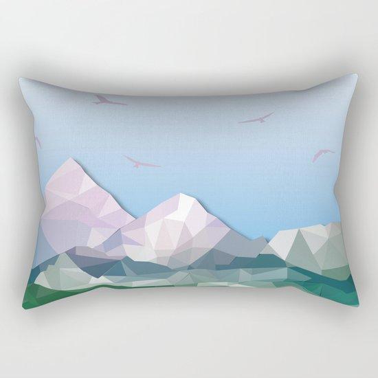 Night Mountains No. 35 Rectangular Pillow