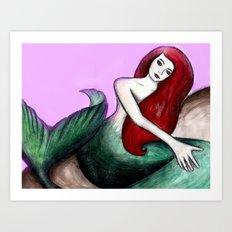 Sirenia Art Print