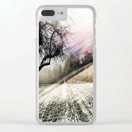 autumn twilight Clear iPhone Case