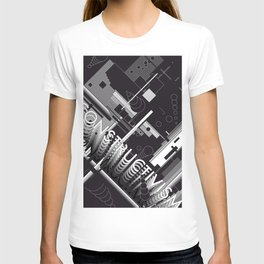 History of Art in Black and White. Constructivism T-shirt