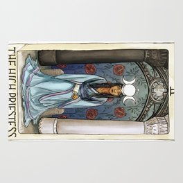The High Priestess Rug
