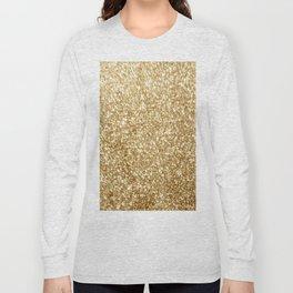 Gold glitter Long Sleeve T-shirt