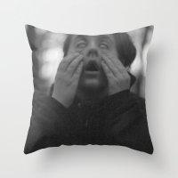 supreme Throw Pillows featuring Supreme by Sonya Lietta