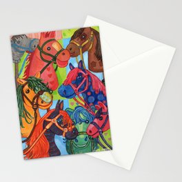 Happy Hobby-Horses Stationery Cards