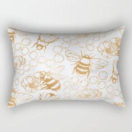 #savethebees #please Rectangular Pillow