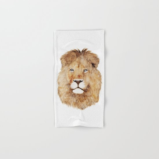 Lion Hand & Bath Towel