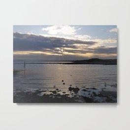 Sunset on the West Coast Metal Print