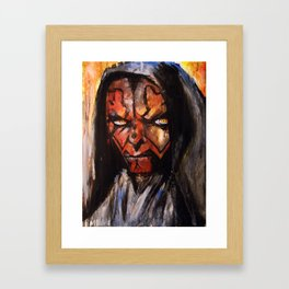 DARTH MAUL Framed Art Print