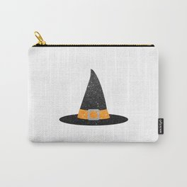 Glitter Witch Hat Carry-All Pouch