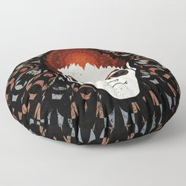 Anthony Crowley Good Omens Geometric Mandala Floor Pillow