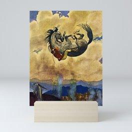 Under Command Of Magic by Artus Schneider Mini Art Print