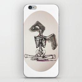 Mixed Media Drawing : Metamorphic Transition 1  iPhone Skin