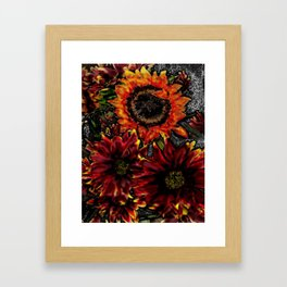 Sunflowers Framed Art Print