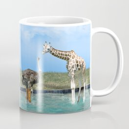 The Ostrich with Galoshes Coffee Mug