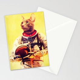 Captain Cat Stationery Cards