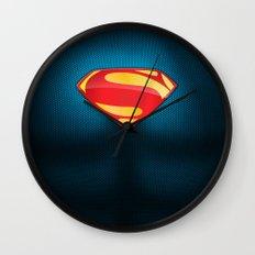 Man of Steel Suit Wall Clock