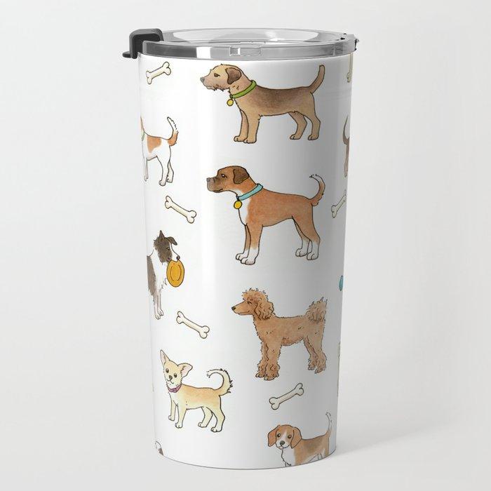 Breeds of Dog Travel Mug