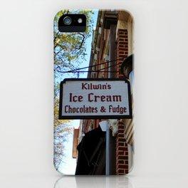 Ice Cream And Fudge Shop iPhone Case