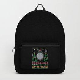Anime Ugly Christmas Backpack