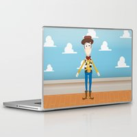woody Laptop & iPad Skins featuring Woody by Clau Calderon