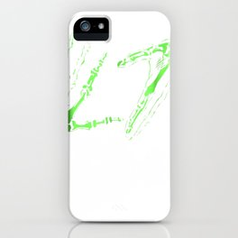 L7 Skeleton Hands Tee iPhone Case