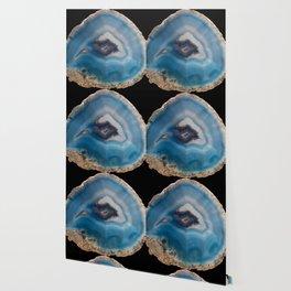 Blue Geode Wallpaper